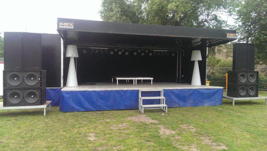 Podiumwagen Imex Events